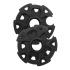 Tramp кольца снежные Ø 10 см (черный)