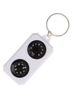Изображение Sol компас-брелок с термометром SLA-003