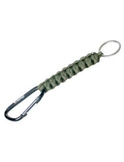Изображение Брелок паракордовый для ключей (карабин/кольцо для ключей)