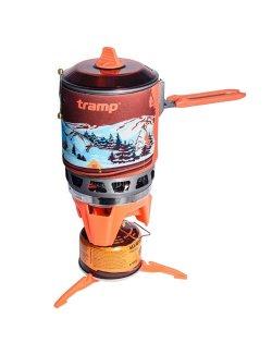 Изображение Система для приготовления пищи 1л. (оранжевый)