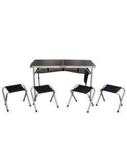 Изображение Tramp набор мебели в кейсе с органайзером TRF-067 алюминий