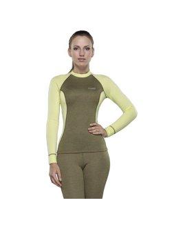 Изображение Destroyer футболка с длинным рукавом женская Tracking (зеленый/желтый)