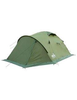 Изображение Палатка Mountain 3 (V2) зеленый