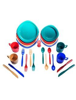 Изображение Набор посуды пластиковой (4 персоны) TRC-053