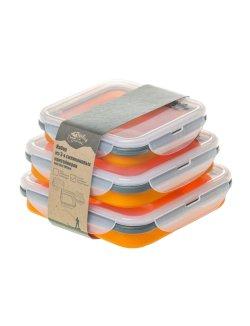 Изображение Набор из 3-х силиконовых контейнеров