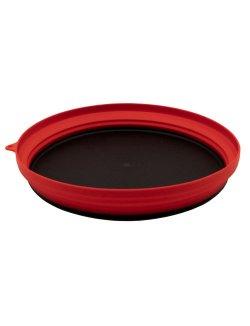 Изображение Tramp тарелка силиконовая с пластиковым дном 1070 мл (терракотовый)