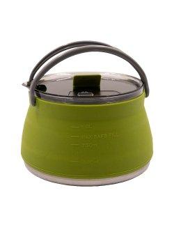 Изображение Tramp чайник складной силиконовый 1л (оливковый)