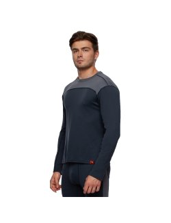 Изображение Bask Co Блуза мужская Slim Fit Pon U Sleeve (серый/темно-серый)