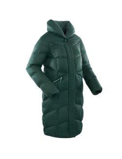 Изображение Bask Пальто женское пуховое Luna (темно-зеленый)