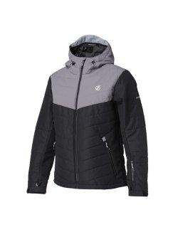 Изображение Dare2b куртка муж. Domain Jacket (черный/серый)