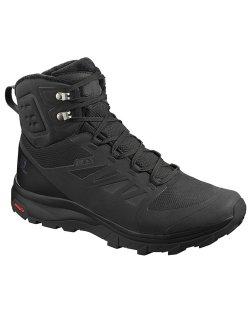 Изображение Salomon ботинки OUTblast TS CSWP (black/black/bla )