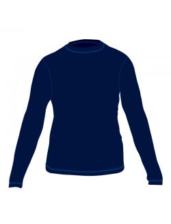Изображение Tramp термобелье комплект Fleece (синий)