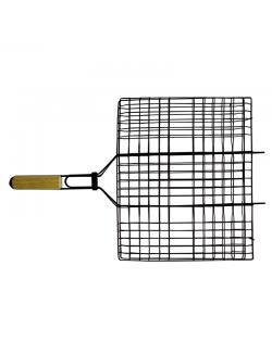 Изображение Решетка-гриль антиприг. покр. плоская 40*30см