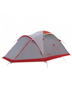 Изображение Палатка Mountain 4 (V2) серый