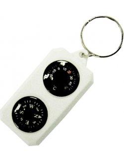 Изображение Компас-брелок с термометром