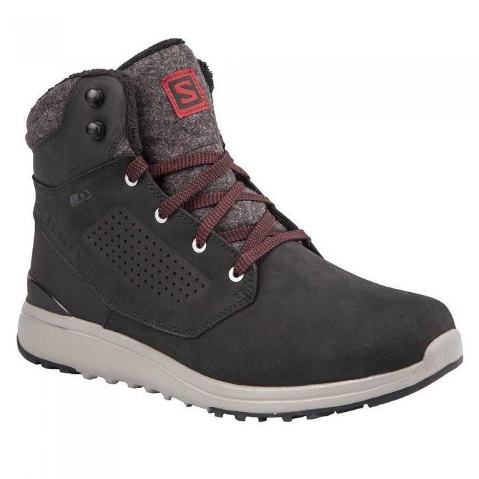 Salomon ботинки ULITY WINTER CS WP (bk/bk/rd da)