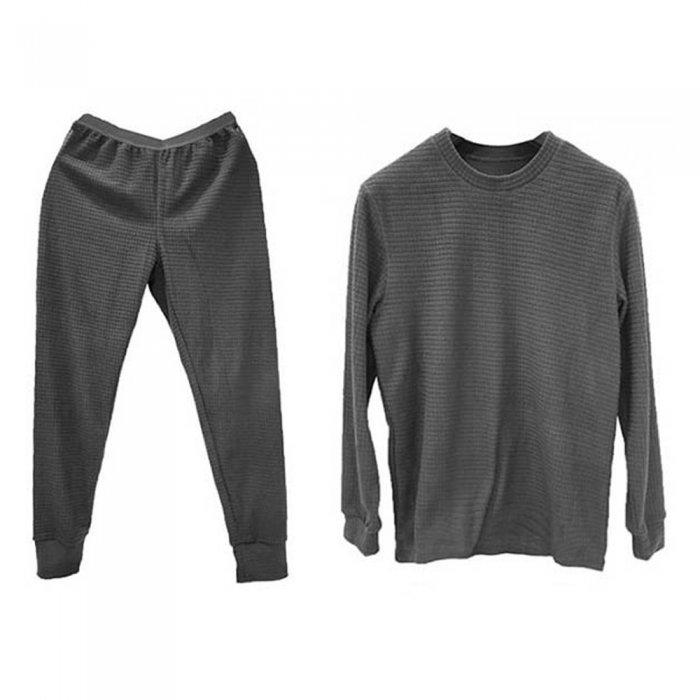 Tramp комплект термобелья Grid Fleece (серый)