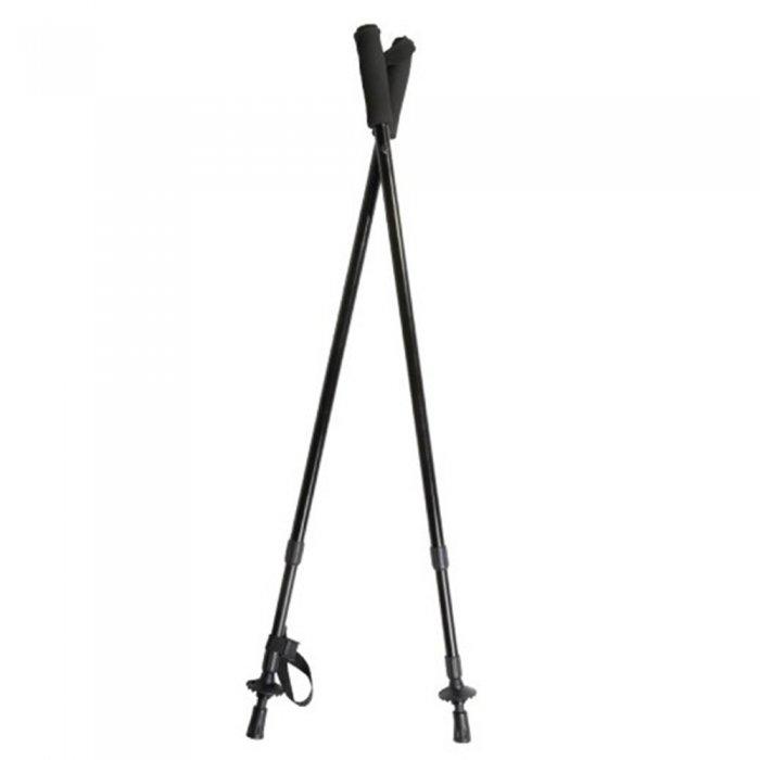 Tramp упор для стрельбы Classic 2 ноги (черный матовый)