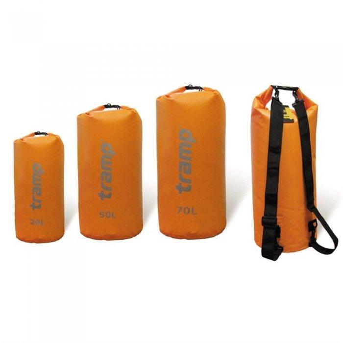 Tramp гермомешок ПВХ 50 л (оранжевый)