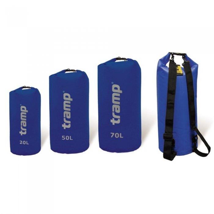 Tramp гермомешок ПВХ 70 л (синий)