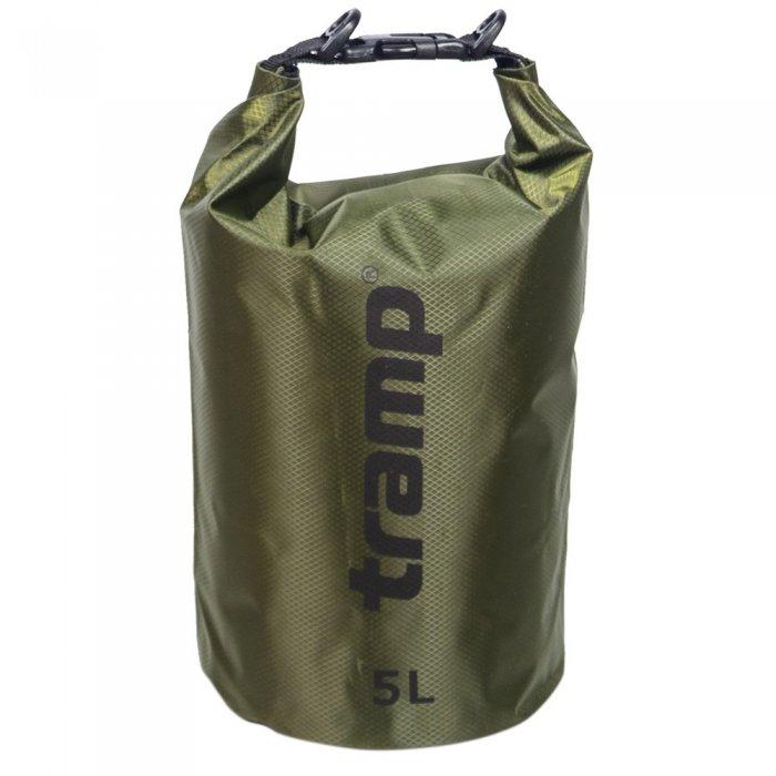 Tramp гермомешок ПВХ Diamond RipStop 5 л (оливковый)