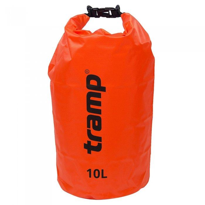 Tramp гермомешок ПВХ Diamond RipStop 10 л (оранжевый)