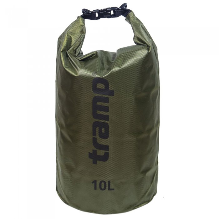 Tramp гермомешок ПВХ Diamond RipStop 10 л (оливковый)