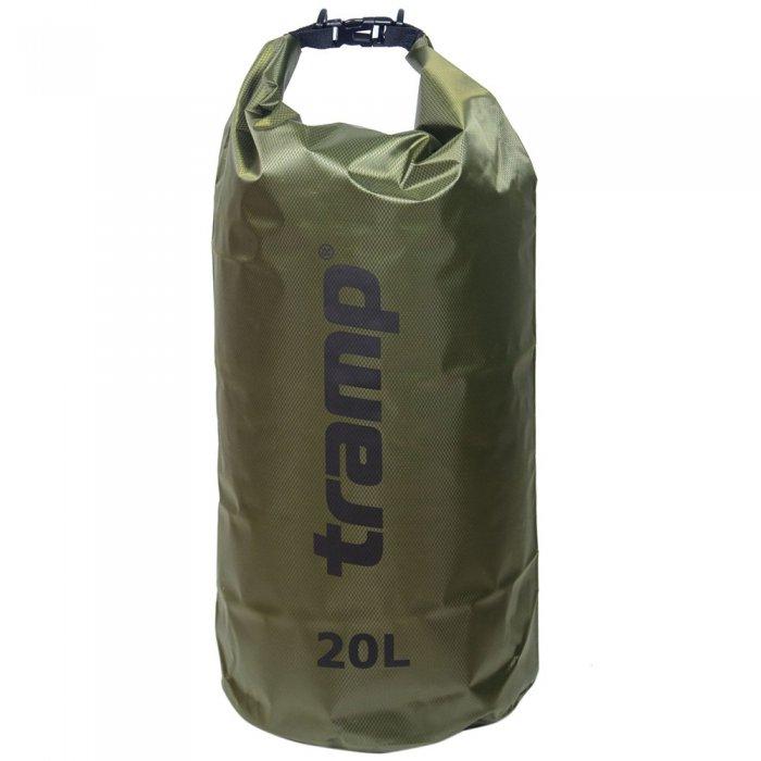 Tramp гермомешок ПВХ Diamond RipStop 20 л (оливковый)