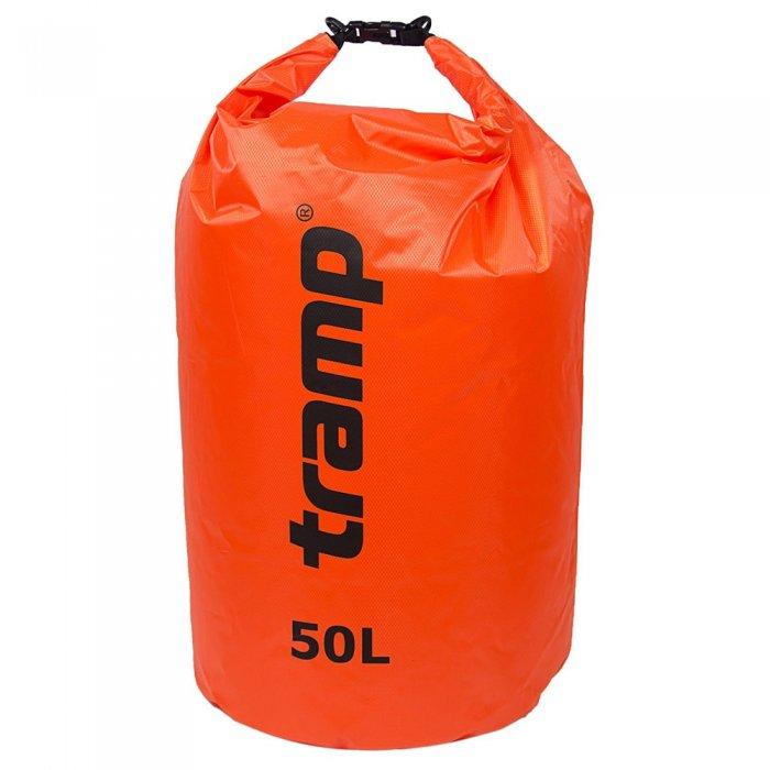 Tramp гермомешок ПВХ Diamond RipStop 50 л (оранжевый)