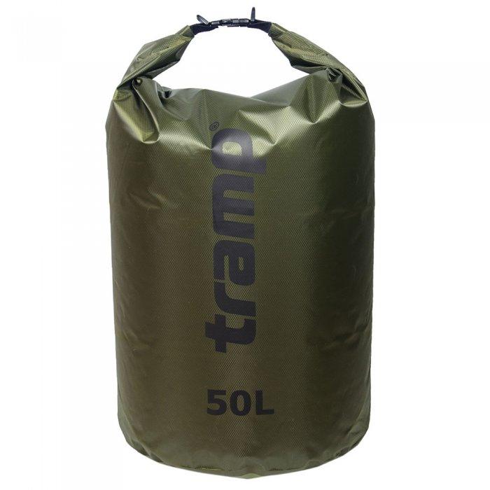 Tramp гермомешок ПВХ Diamond RipStop 50 л (оливковый)