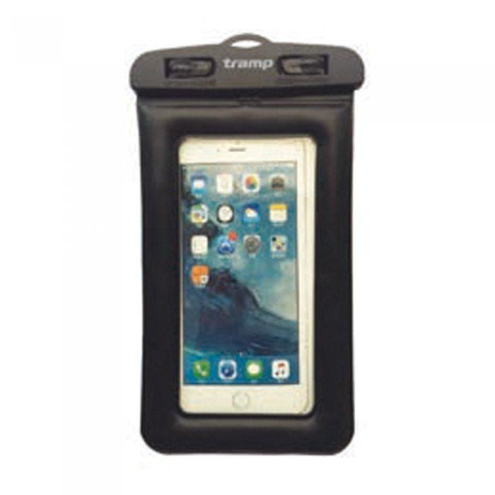 Tramp гермопакет для мобильного телефона плавающий (10,7х18см) (черный)