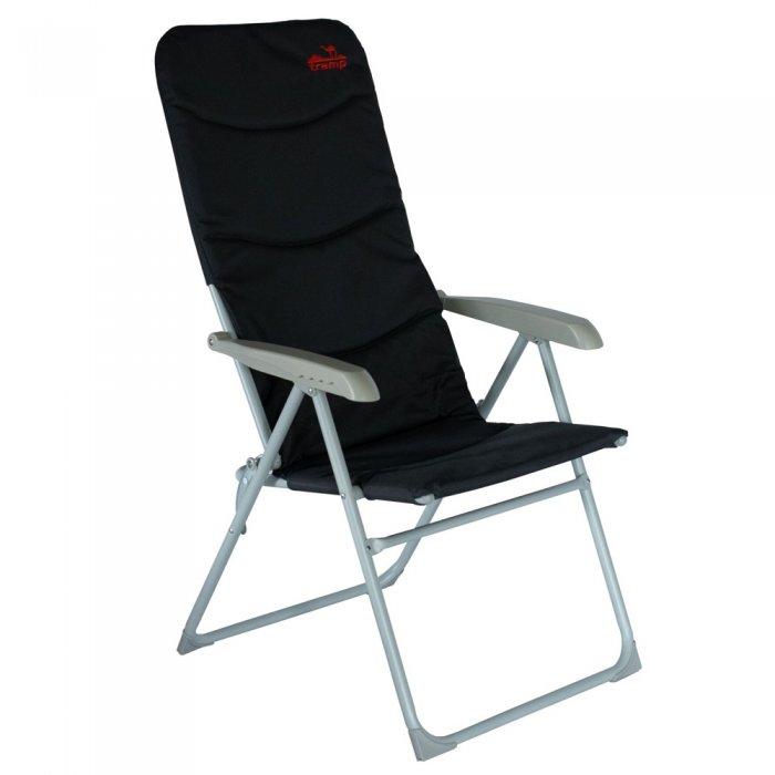 Кресло складное регулируемое Tramp, алюминий