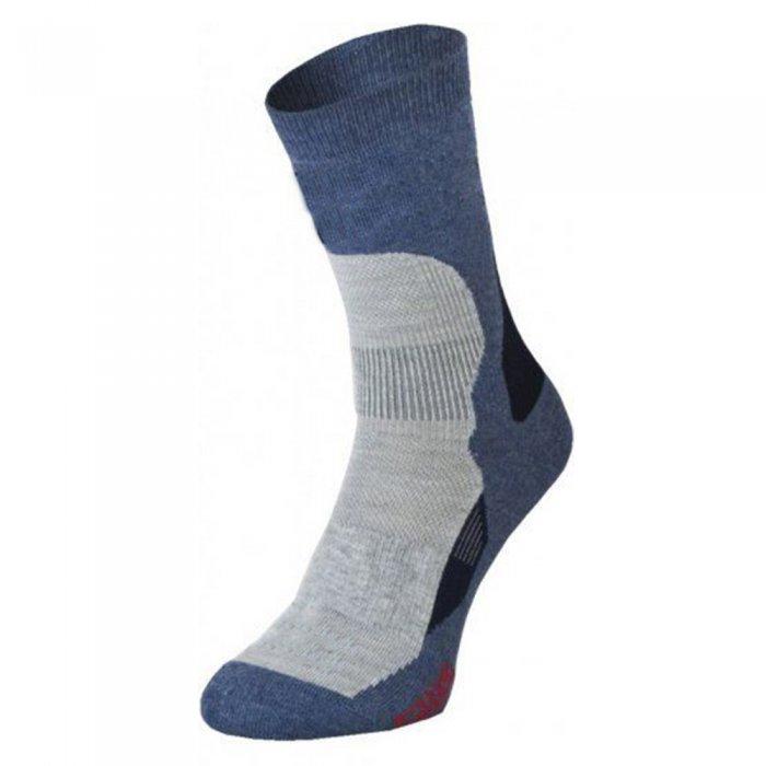 Tramp носки Outdoor Trekking Light (голубой/св.серый)