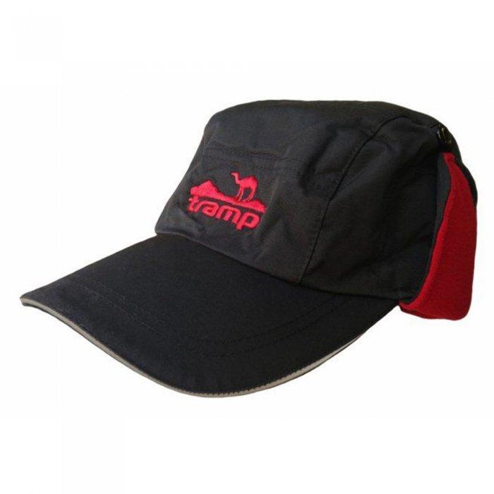 Tramp теплая зимняя кепка (черный)