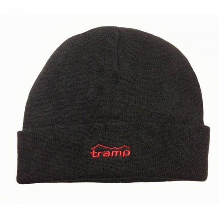 Tramp шапка вязаная (черный)