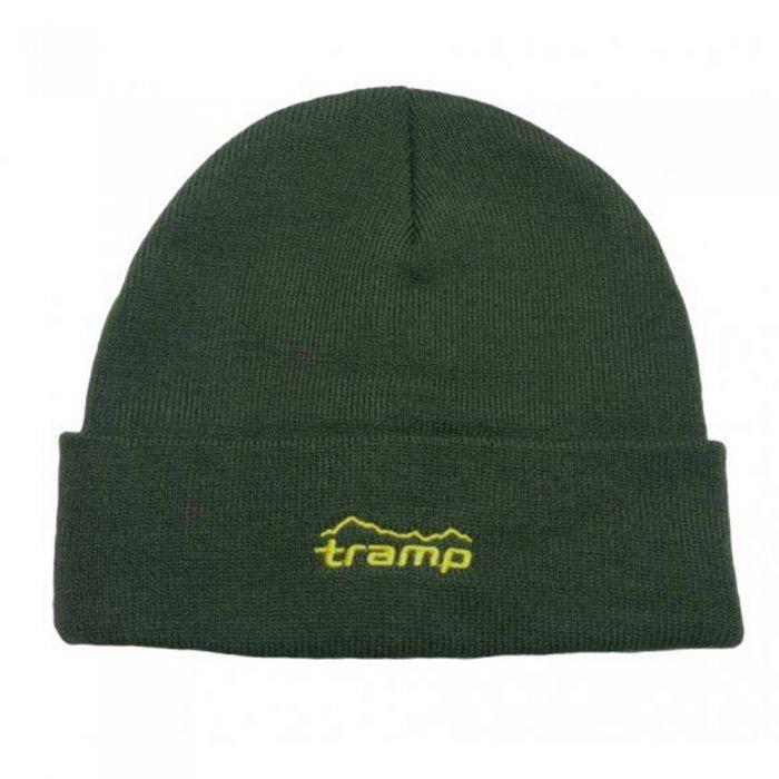 Tramp шапка вязаная (хаки)