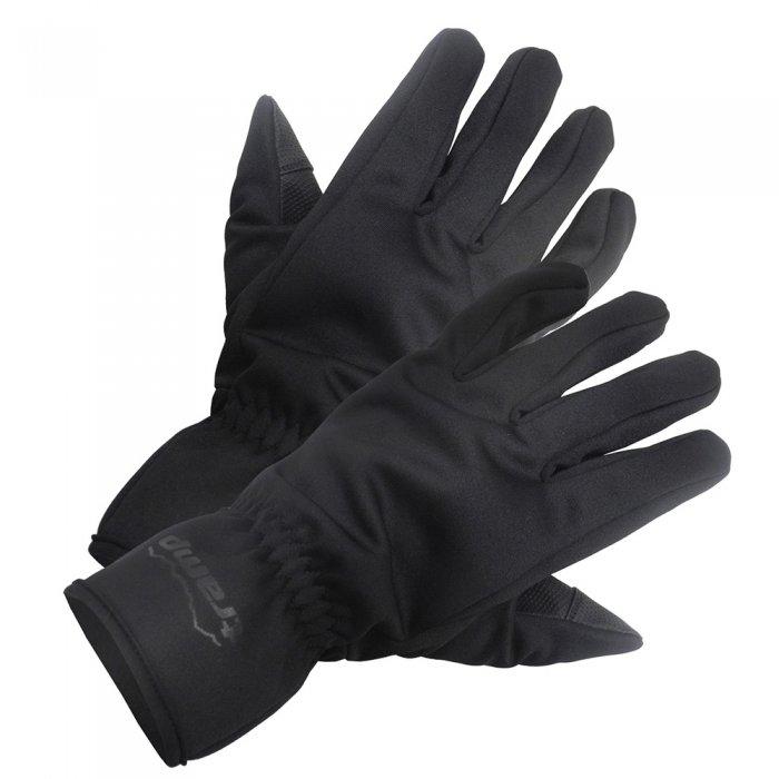 Tramp перчатки Softshell (черный)