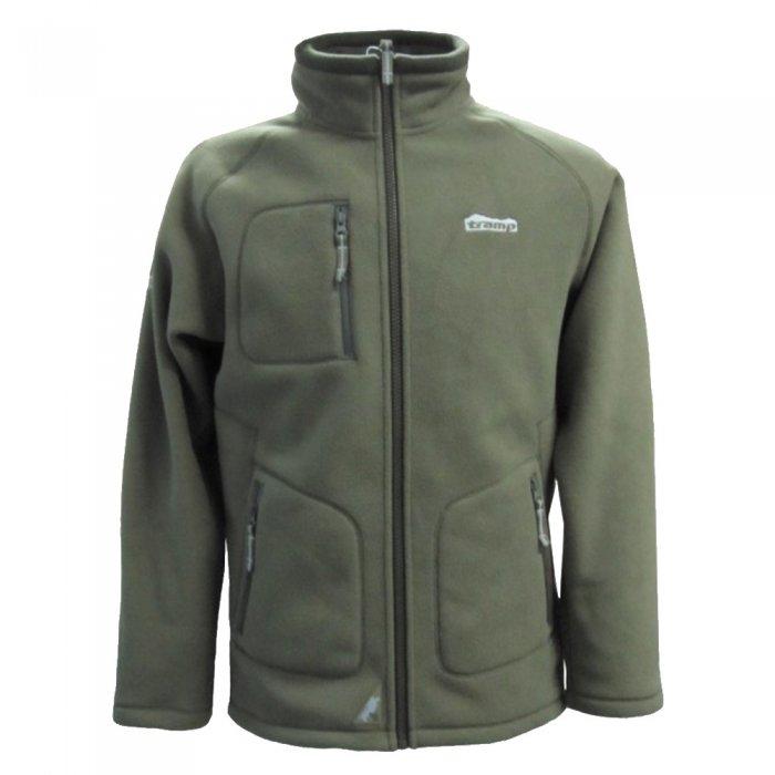 Tramp мужская куртка Алатау (зеленый/серый)