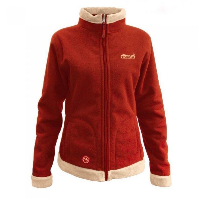 Tramp женская куртка Бия (красный/бежевый)