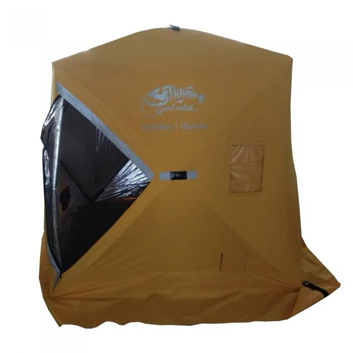 Tramp палатка IceFisher3 Thermo (желтый)