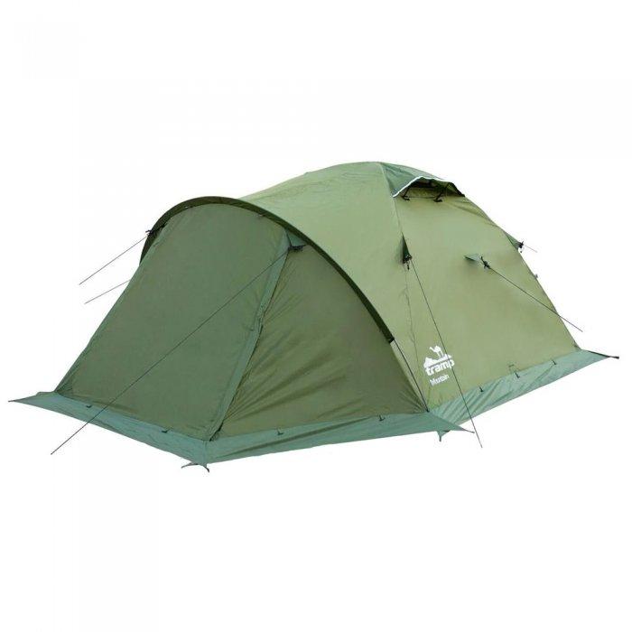 Tramp палатка Mountain 4 (V2) (зеленый)