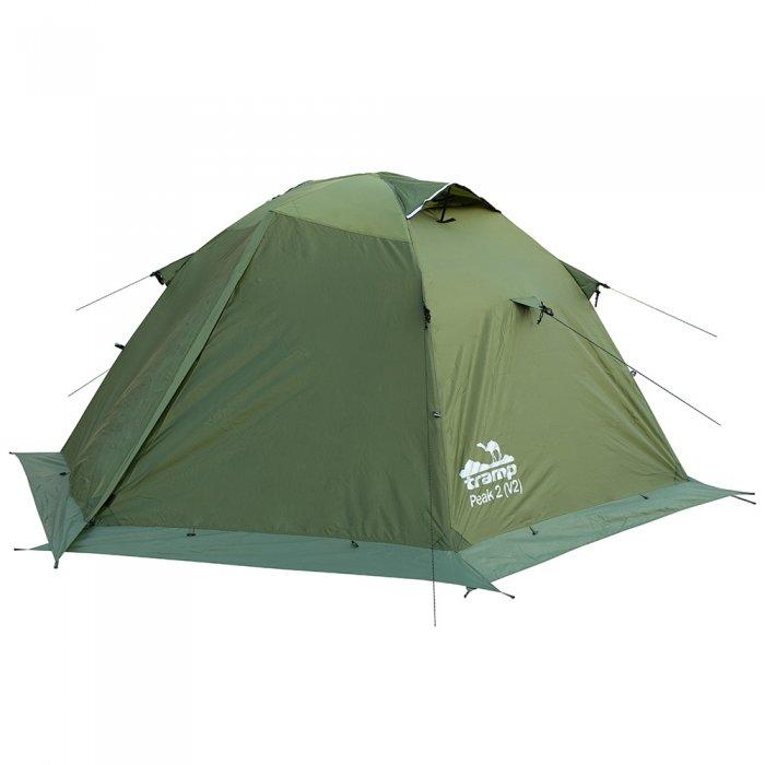 Tramp палатка Peak 2 (V2) (зеленый)