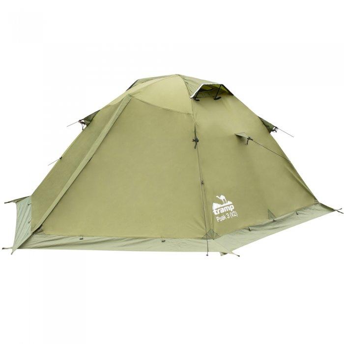 Tramp палатка Peak 3 (V2) (зеленый)