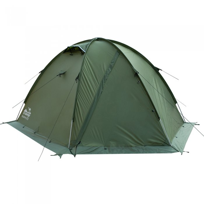 Tramp палатка Rock 4 (V2) (зеленый)