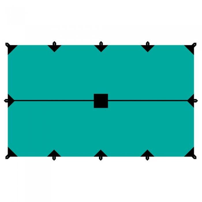 Tramp тент 4х6 м (зеленый)
