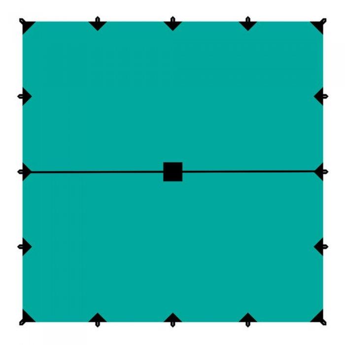 Tramp тент 6х6 м (зеленый)