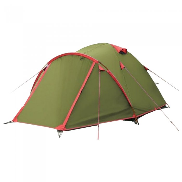 Tramp Lite палатка Camp 2 (зеленый)