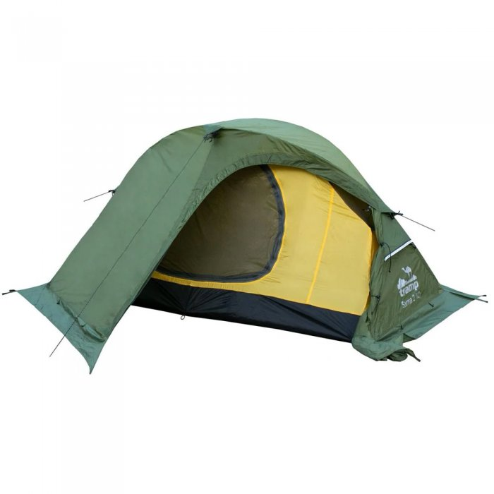 Tramp палатка Sarma 2 (V2) (зеленый)