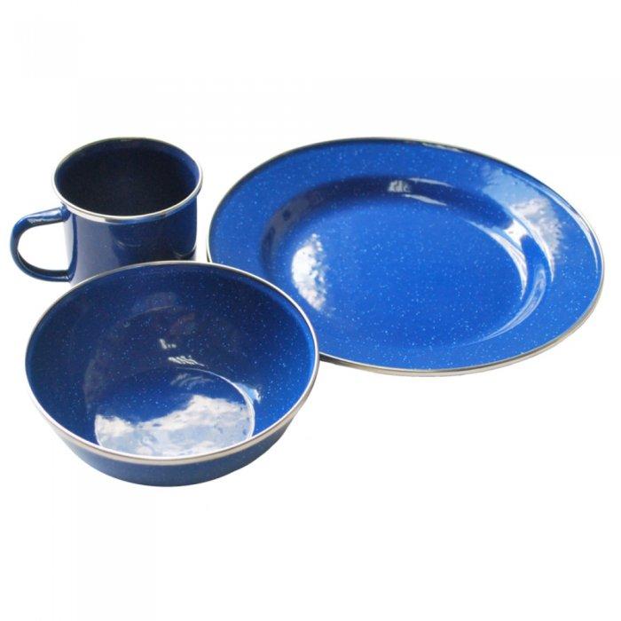 Tramp набор посуды эмалированой TRC-074 (Сталь)