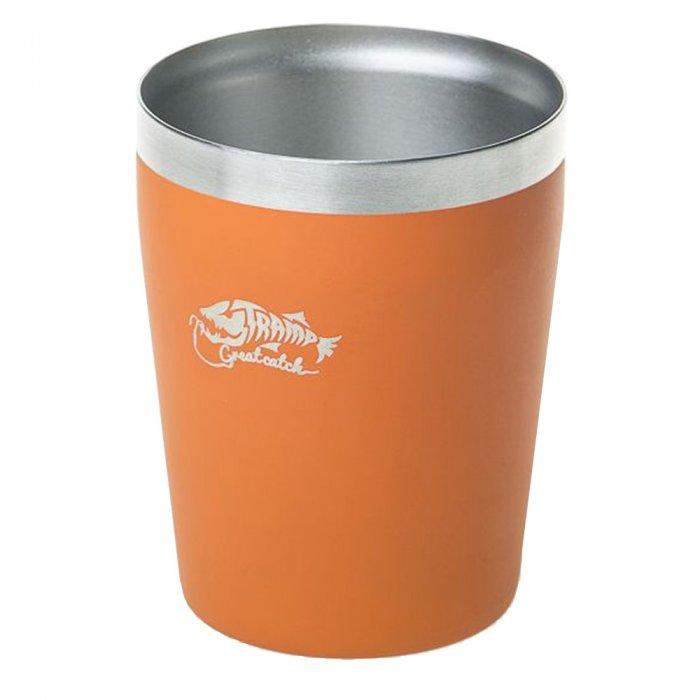 Tramp термостакан металлический TRC-101 250 мл (оранжевый)